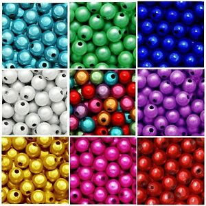 Acrylic Miracle Beads 5mm 'Royale  Mix'