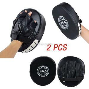 Thai-Kick-MMA-Glove-Kampf-Boxtraining-Schlags-Auflage-Fokus-Boxing-Mitts-ElR8