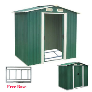 XXL Wooden garden shed tool equipment Storage house outdoor yard