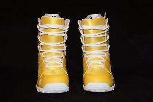 Snowboard boots Men's Snowjam 540 Glowstick Yellow Size 9 NEW