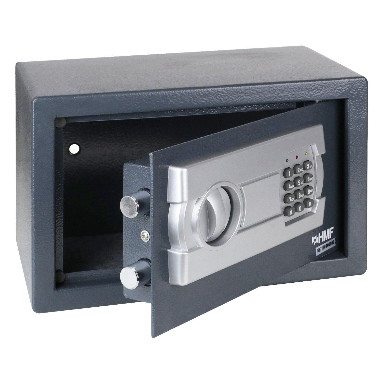 HMF Möbeltresor Elektronikschloss 31 cm Wandtresor Tresor Safe Hotelsafe 4612112