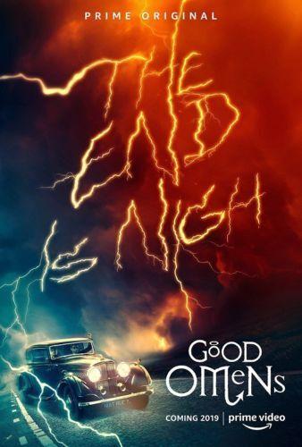 Good Omens Neil Gaiman Terry Pratchett TV Series Art Poster 12x18 24x36inch 379