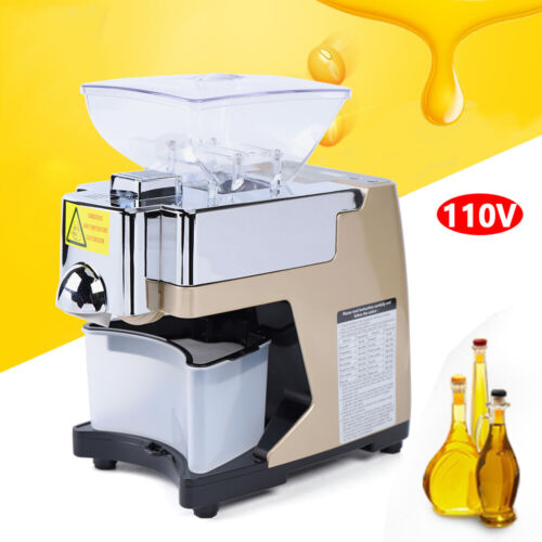 Automatic Oil Press Machine Oil Extraction Commerical Olive Extractor Expeller A