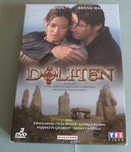 COFFRET-3-DVD-L-039-INTEGRALE-SERIE-TV-DOLMEN-6-EP-INGRID-CHAUVIN-BRUNO-MADINIER