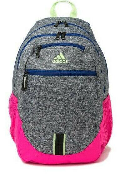 adidas Foundation V Backpack Brasilia Prime Student Onix Jersey ...