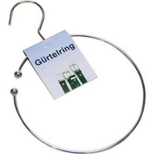Gürtelbügel Gürtelring Gürtelhalter Krawattenring Kleiderhaken Kleiderbügel b31v