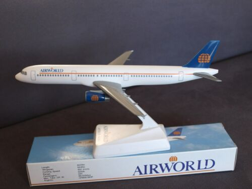 Airworld Aviation Airbus A321 Push Fit Model 1:200 Scale Then Thomas Cook