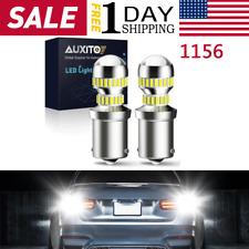Auxito 1156 7506 Led Reverse Backup Light Bulbs White 6000k Canbus Error Free B