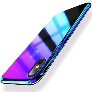Farbwechsel-Handy-Huelle-fuer-Xiaomi-Mi-8-Pro-Slim-Case-Schutz-Cover-Tasche-Etui