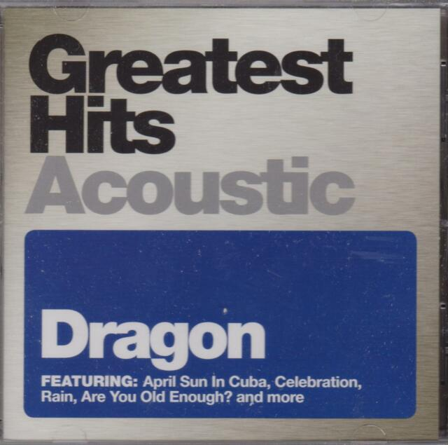 DRAGON - GREATEST HITS ACOUSTIC  - CD - NEW -
