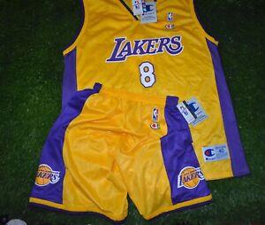 P4 VTG NBA LOS ANGELES LAKERS #8 KOBE BRYANT BASKETBALL JERSEY ...