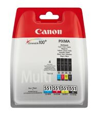 Artikelbild CANON CLI 551 Tintenpatrone Multipack Mehrfarbig 6509B009