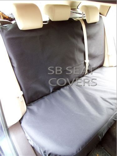 SEAT COVERS SEMI FIT A VOLKSWAGEN UP CAR FULL SET i DELUXE WATERPROOF BLACK