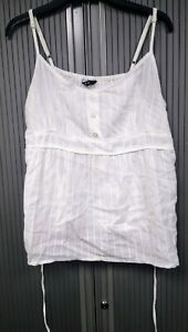 White-Embroidered-Camisole-Top-with-ties-100-Cotton-Size-20
