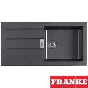 Franke Sirius : Franke-Sirius-1-0-Bowl-Black-Kitchen-Sink-BLK-Grade-B-Returned-Item ...