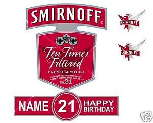 Smirnoff Birthday Cake Uk