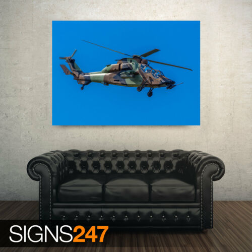 AIRBUS HELICOPTERS TIGER EC665 Photo Picture Poster Print Art A0 to A4 4009