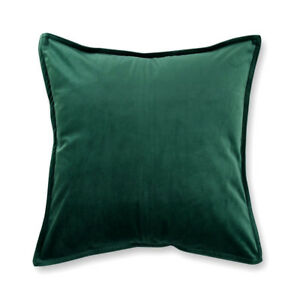 VELVET-Premium-Quality-Cushion-Cover-Square-45-x-45-cm-GREEN-Christmas