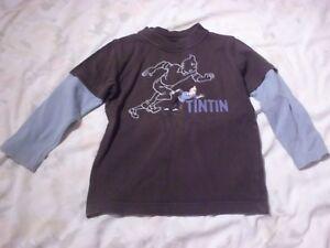 Tintin-Top-Tintin-Running-illustration-size-Age-4