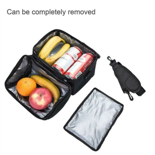 8L Large Insulated Lunch Bag Cooler Picnic Travel Food Box Tote Carry Bag Men A+
