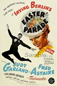 VINTAGE EASTER PARADE MOVIE POSTER A3 PRINT