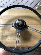 Rare Vintage 1960s 1970s Austin Car Steering Wheel And Horn Button