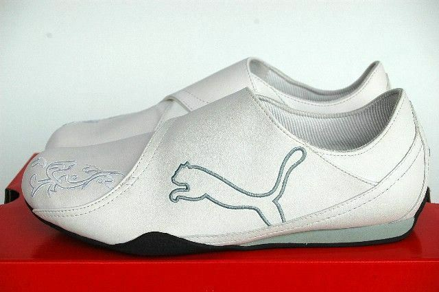 Puma white BAYLEE white Puma ether -  weiß blau  wie UKE 42  NEU 4f3dfe