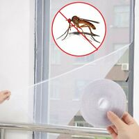 2X Insect Screen Window Netting Kit Fly Bug Wasp Mosquito Curtain Mesh Net Cover