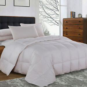 Superior White Lightweight Duck Down Comforter Duvet Insert For All Season Ebay
