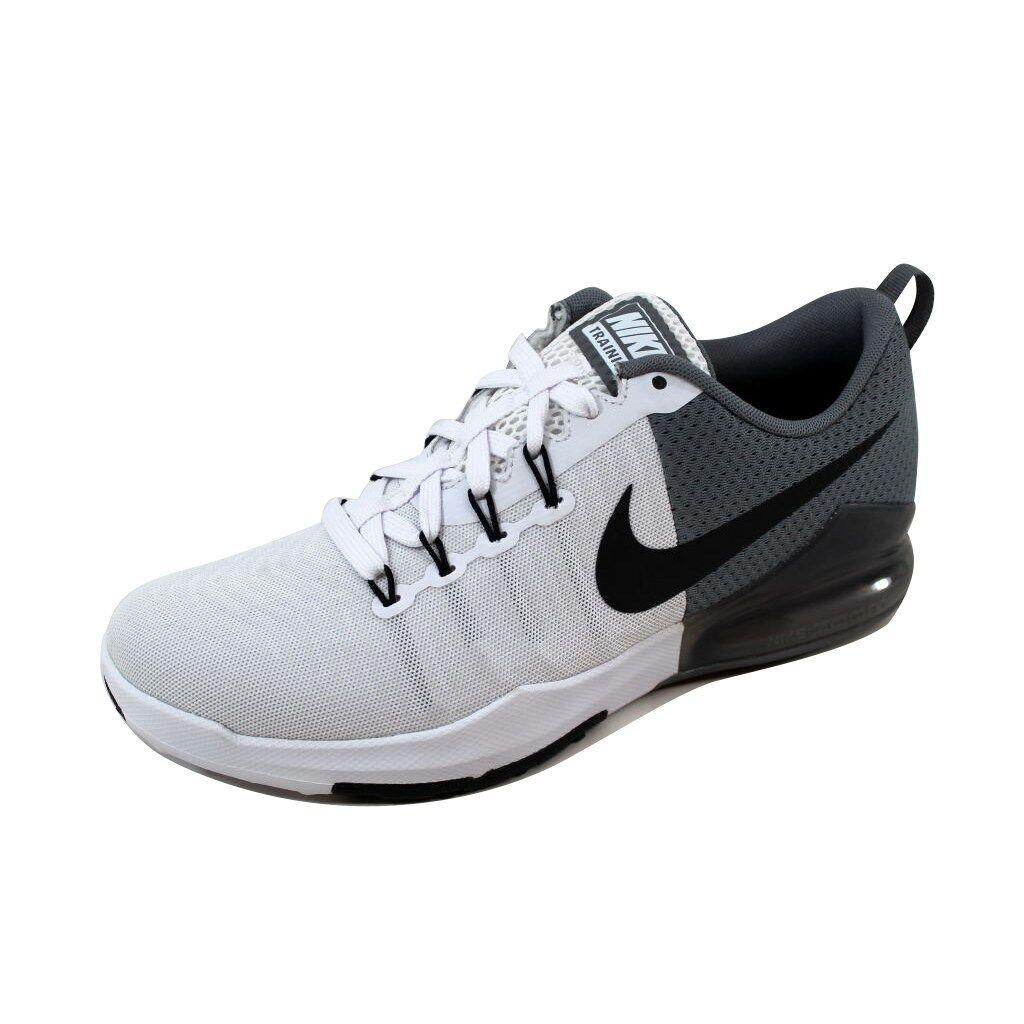 nike nike nike hommes zoom train action blanc / noir / gris baskets chaussure  120 sz: 8 91e027