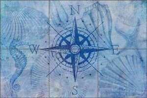 Compass-Tile-Backsplash-Haase-Nautical-Ceramic-Mural-Art-POV-AH001