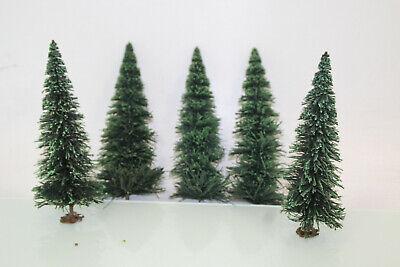 Sensibile Traccia G Conifere Verde Circa 21 Cm Di Altezza 5 Pezzi La Raccolta Per Lgb (js7610). O-mostra Il Titolo Originale