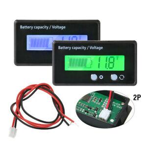 12V-24V-48V-Battery-Status-Charge-LCD-Digital-Indicator-Monitor-Meter-Gauge-N2CX
