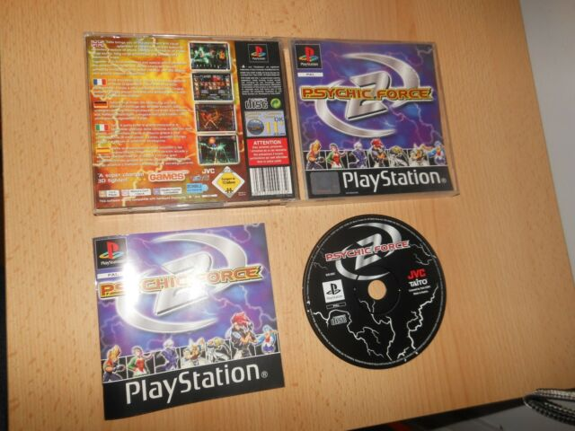 Psychic Force 2 Sony PlayStation 1, PS1 PAL VERSION