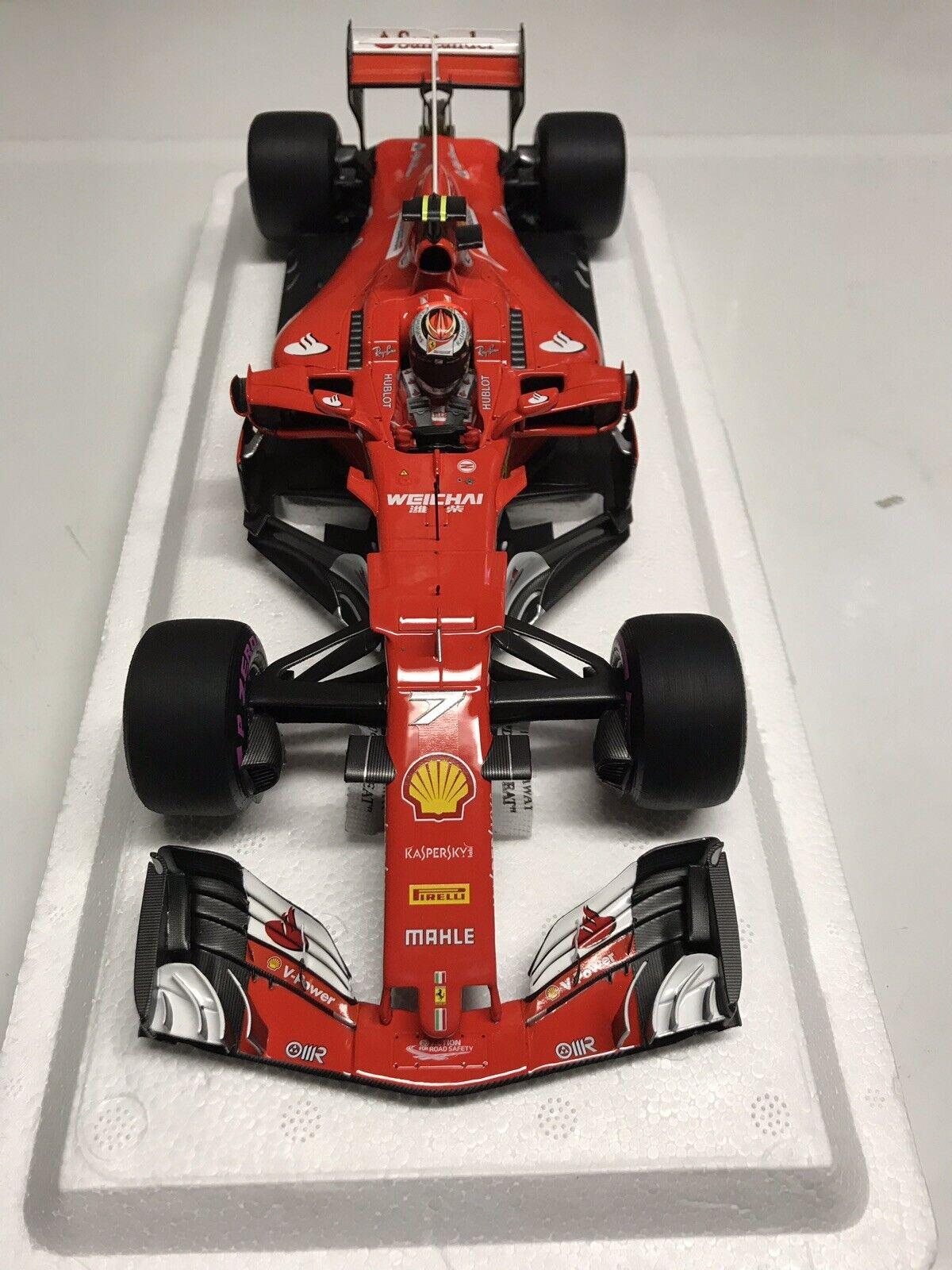 BBR Ferrari SF70-H 2017 Kimi Raikkonnen Australia Grand Prix 1 18 Nuevo En Caja +