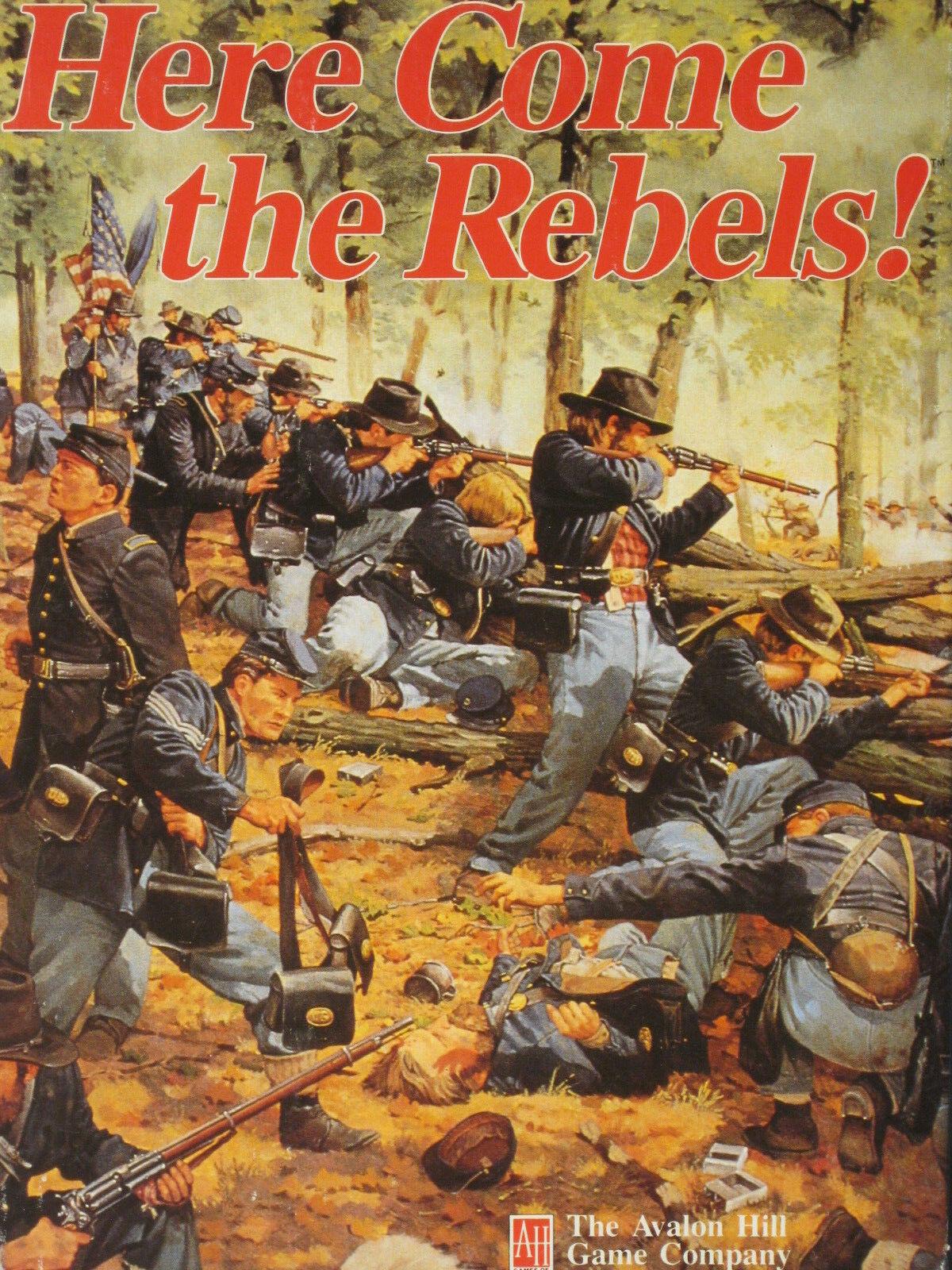 Aquí viene el los rebeldes  Avalon Hill, ENLOMADOR, Hurge gcacw Bonus