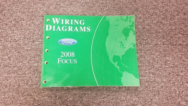 2008 Ford Focus Electrical Wiring Diagram Manual S Se Ses
