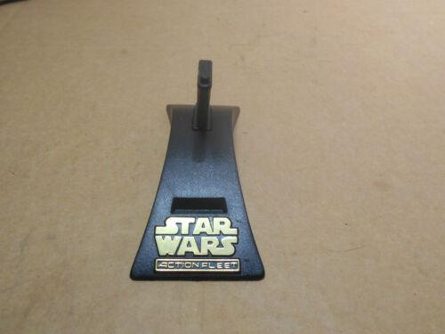 Star Wars Action Fleet affichage caractères dorés Socle UNIQUEMENT Micro Machine