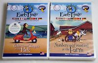 Early Lingo Dvds Part 1 Colors Shapes In The Park Pt 2 Numbers Counting Farm