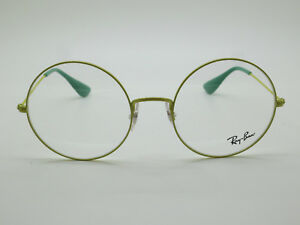 7feca47732 NEW Authentic Ray Ban RB 6392 2938 Yellow Round Oversize 53mm RX ...