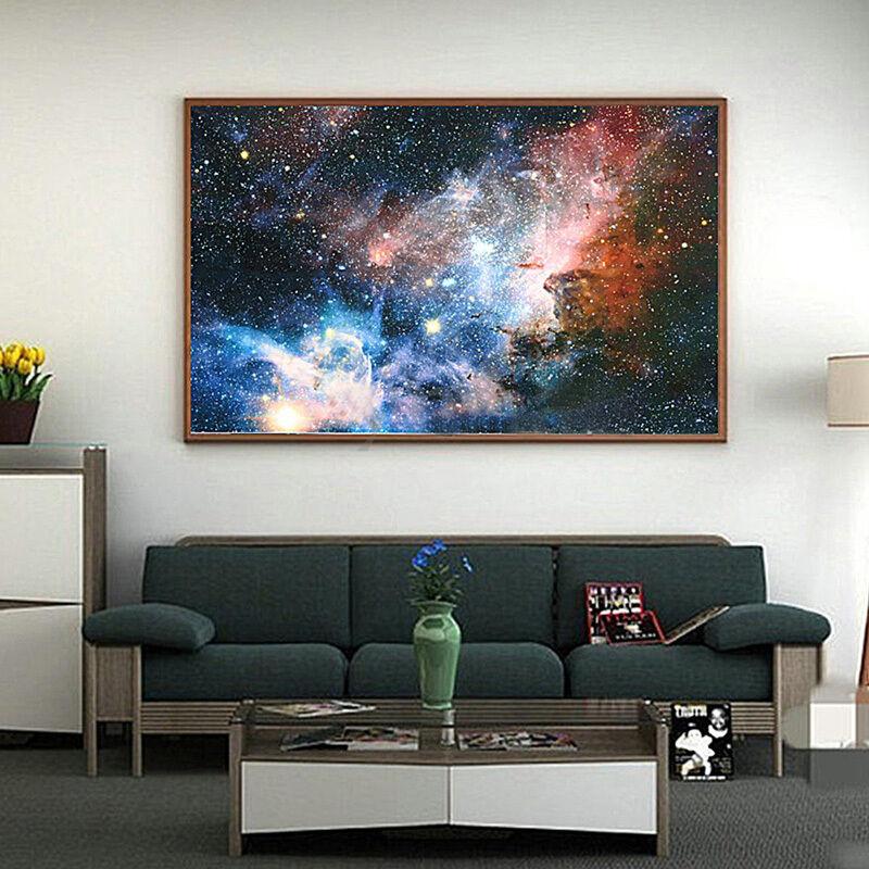 פוסטר גלקסיה צבעוני גדול