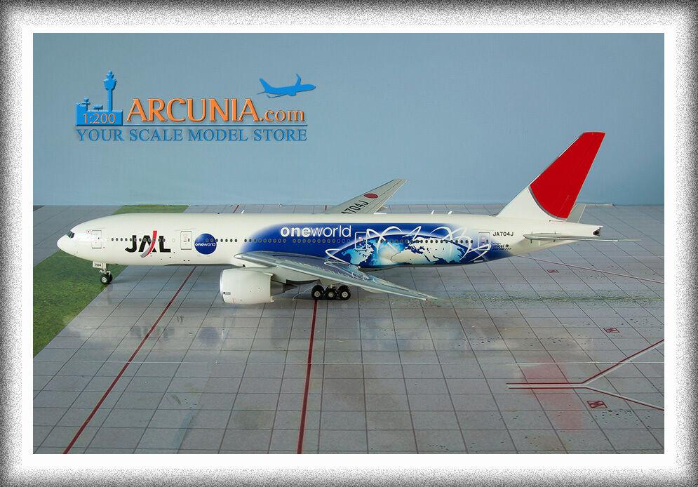 JC Wings 1 200 JAL Boeing Boeing Boeing 777-200ER  One World - JA704J  XX2673 c3d8e9