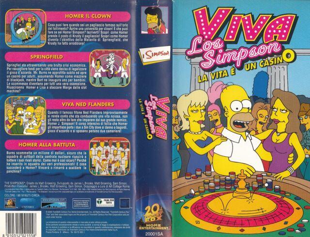I Simpson. Viva Los Simpsons (1999) VHS