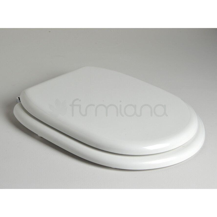 Abattant Wc Siège compatible avec Wc Alba - céramique Antica Ceramica Vitruvit