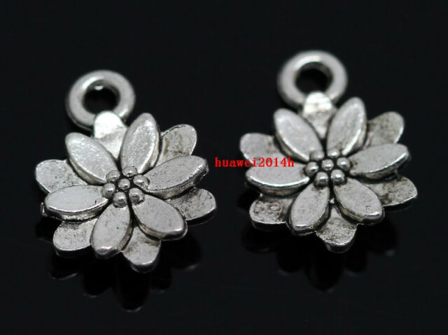 Lot 50pcs Tibet Silver Pentagram Fashion Jewelry Finding Charm Pendants 20x16mm