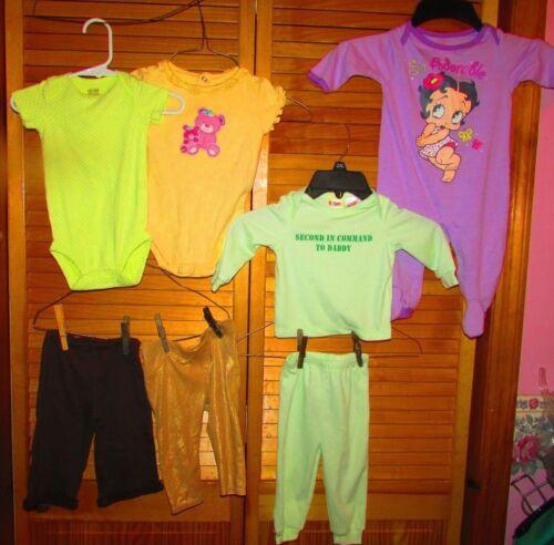 Infant 3M 3-6M 6M Girl bodysuit romper sleeper jacket Shirt top pant u pick lot