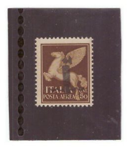 Italy 1943/44 RSI Posta Aerea Cent.50 - SAGGIO - nuovo** - Italia - Italy 1943/44 RSI Posta Aerea Cent.50 - SAGGIO - nuovo** - Italia