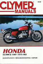 Honda GL1000 and 1100, 1975-1983 by Clymer Publications Staff (1984, Paperback, Reprint)