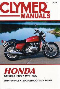 1975 1983 honda gl1000 gl1100 gold wing repair service workshop shop rh ebay com 1983 Honda Goldwing Aspencade Specs 1983 honda goldwing manual