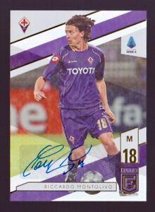 Riccardo Montolivo Autograph 2019-20 Panini Chronicles Elite Soccer Auto #E-21